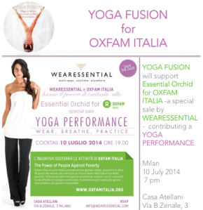 Yoga Fusion for Oxfam