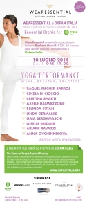Yoga Fusion for Oxfam_Program & Participants